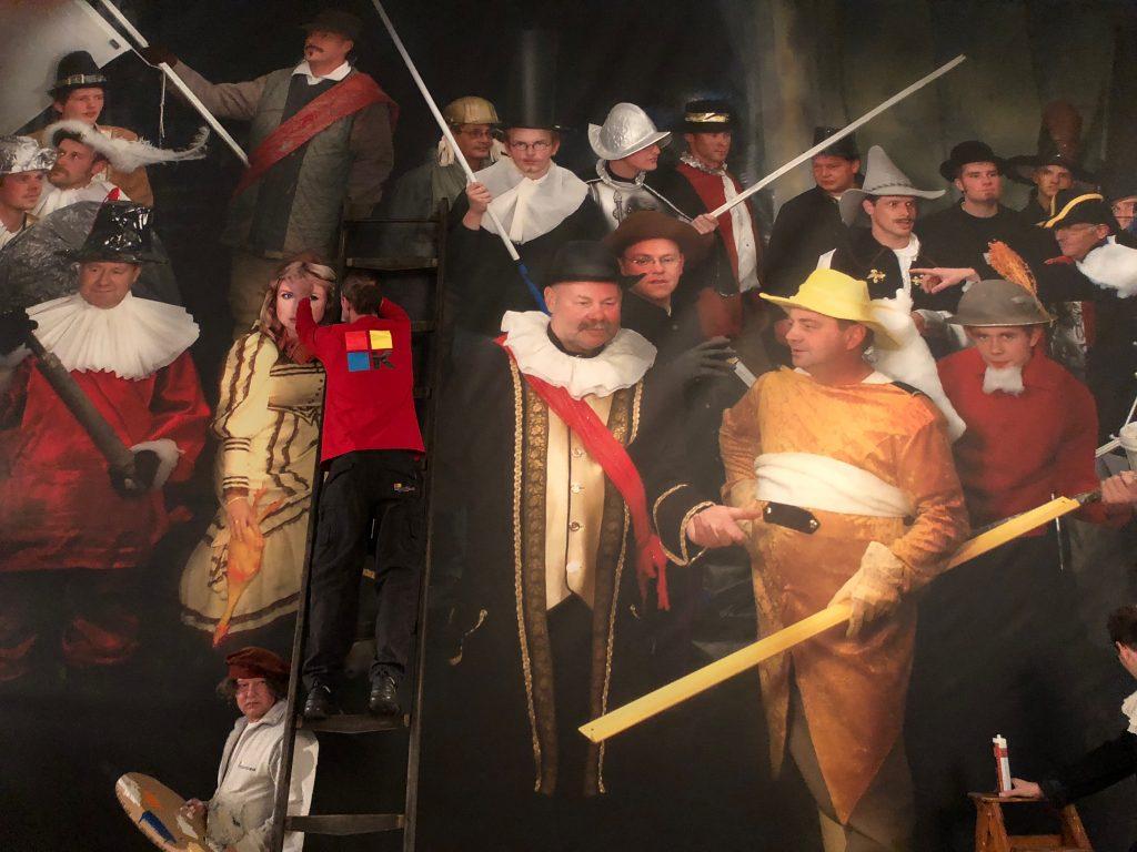 Eindresultaat Korteland Nachtwacht Rembrandt