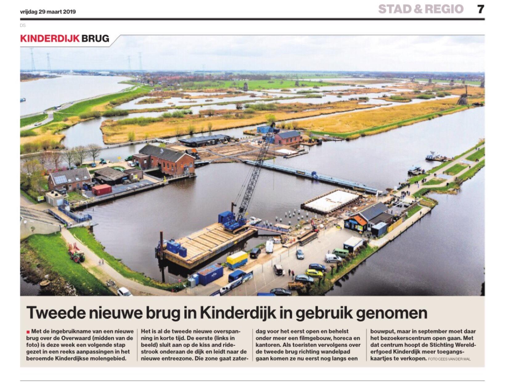 Korteland Schilders trotse sponsor van UNESCO Werelderfgoed Kinderdijk