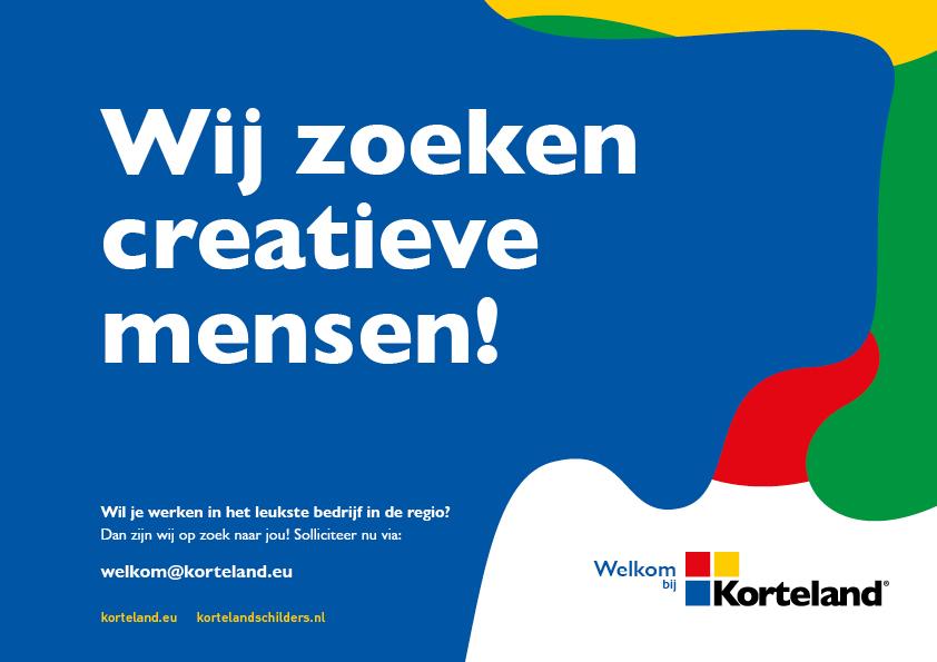 Korteland In- & Outdoor Signing Wervingscampagne