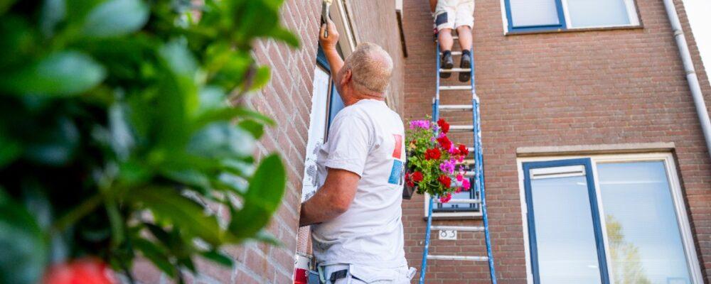 Korteland Schilders - samenwerking met woningbouwcoöperaties - Molenlanden Alblasserwaard Rotterdam Den Haag